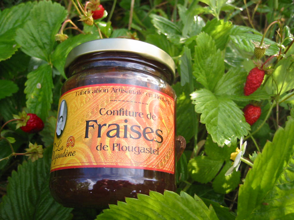 Plougastel Strawberry Jam 250G