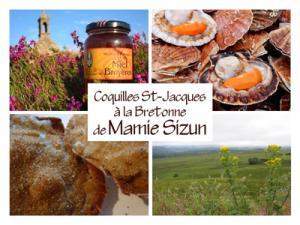 Coquilles Saint-Jacques à la Bretonne de Mamie Sizun