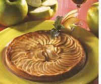 Tarte Fine aux Pommes et Pommeau de Bretagne